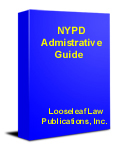 looseleaflaw iphone products rh looseleafdownloads com Stanford Admin Guide nypd administrative guide download